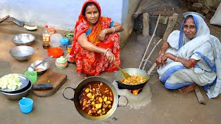 PAPAYA MUTTON CURRY Healthy Village Food | Goat Meat and Papaya Curry