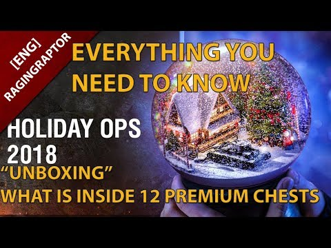 World of Tanks Holidays Ops 2018: What you need to know &