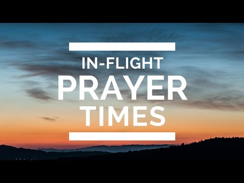 In-Flight Prayer Times and Qibla Direction Calculator for Airplane Travel