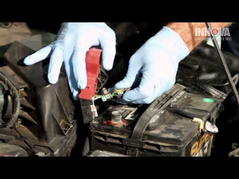 How to clean Battery Terminals - 2006 Nissan Sentra