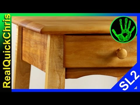 furniture restoration and repair American Maple end table
