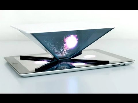 Turn your Smartphone into a 3D Hologram!