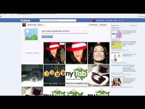 How to Look Up Past History Pictures on Facebook : Facebook Tips & Social Media