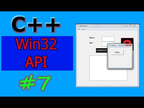Windows GUI Programming with C/C++ ( Win32 API ) | Part -7 | Dialogs (Modal and Modeless )