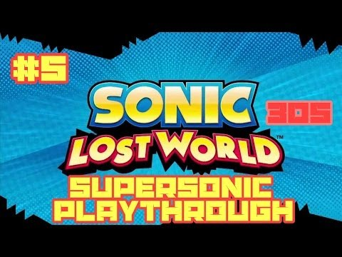 Sonic Lost World (3DS) - Super Sonic Playthrough #5: Windy Hill Boss