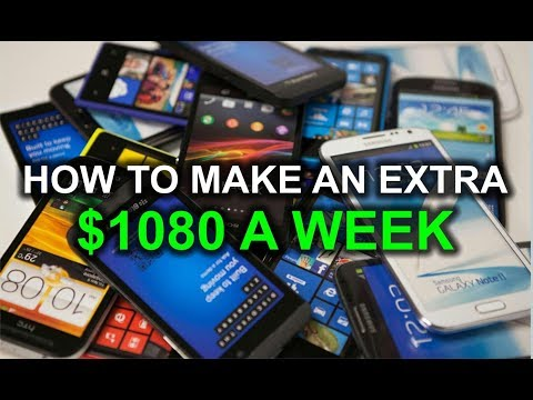 How to Make Extra $1000 Per Week With your Phone! 2018
