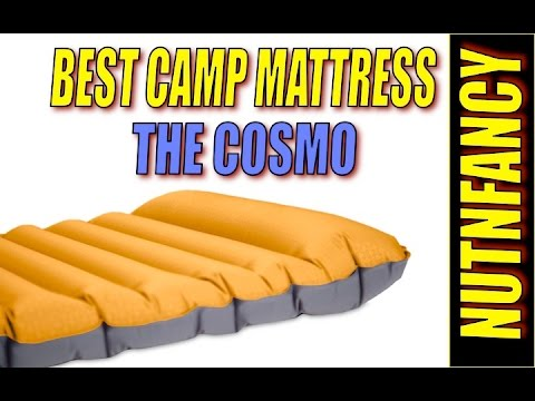 Sleep Good in the Woods: Nemo Cosmo Camp Mattress