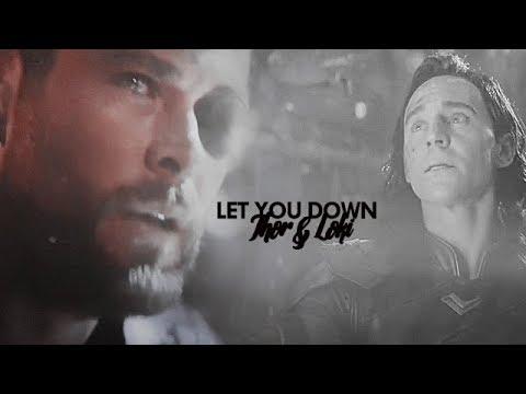 thor&loki | let you down