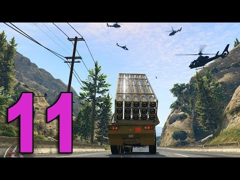GTA Online Doomsday Heist - Part 11 - STOLE A MISSILE LAUNCHER