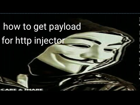 how to get working payload for http injector and check if