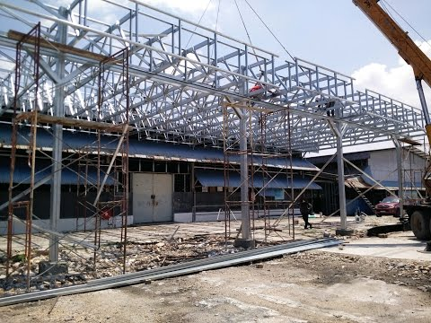 Multi Truss System Building Malaysia | Steel Trusses Design