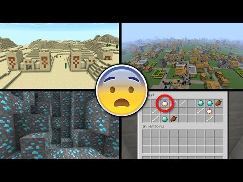✔️ BEST MINECRAFT SEED IN HISTORY! - Minecraft Console ( XBOX ONE/360 + PS3/4 + WII U + NSWITCH )