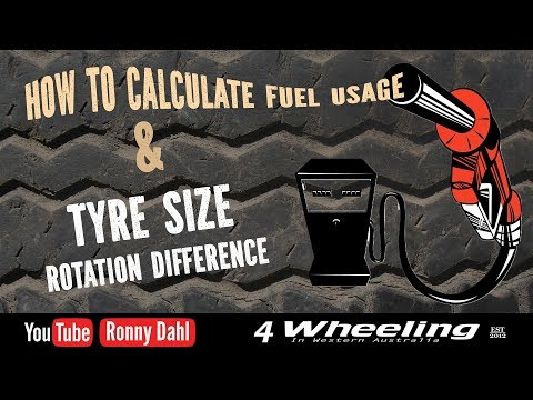 Overland Travel Fuel & Tyre Calculations