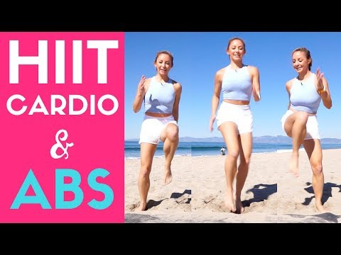 HIIT Cardio and Abs Workout - 20 Minute At-Home Routine