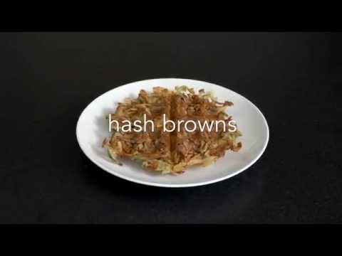 Hash Browns - Oil Free and Crispy