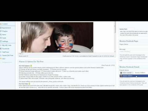 Social Publish to Facebook Timeline Part 2