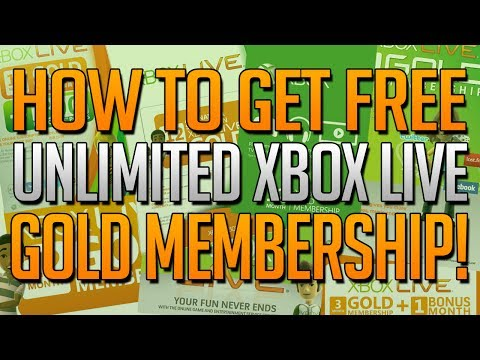 How To Get Unlimited XBOX LIVE GOLD For FREE! Free Unlimited 7 Day Xbox Live Gold Trials Trick!