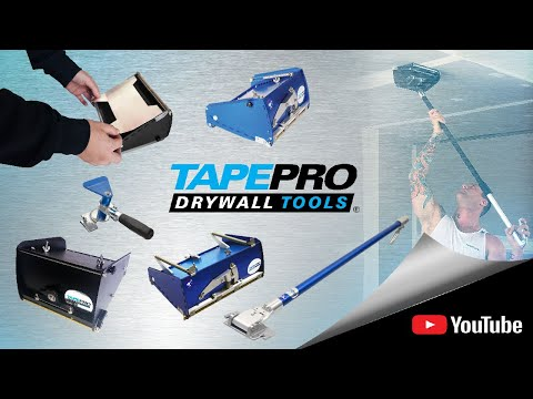 Tapepro's Flat Finishing Tools and Accessories