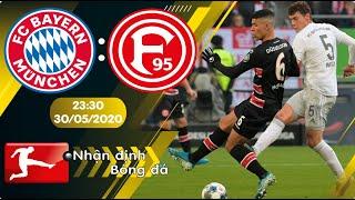Nhận định, soi kèo Bayern Munich vs Dusseldorf 23h30 ngày 30/05 - vòng 29 - Bundesliga 2019/2020