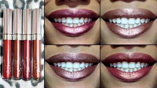 Colourpop Ultra Metallic Lip & Wrist Swatches