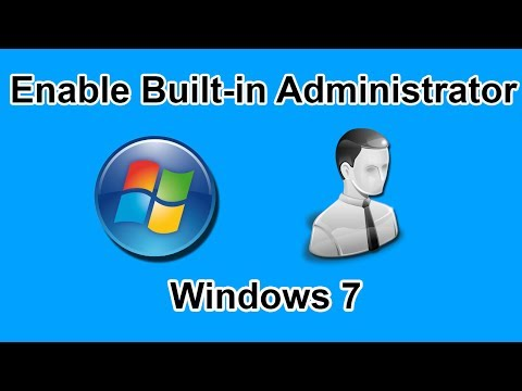 How to Enable Built in Administrator Windows 7 with Hirens Bootcd in Virtualbox