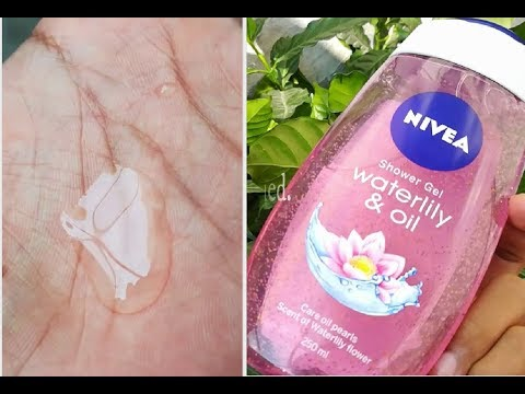 Nivea Waterlily & Oil Shower Gel Review
