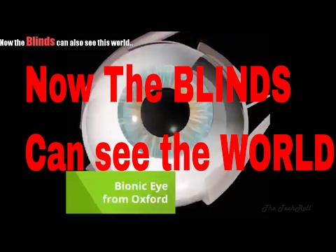 Now,The BLINDS can also see the world..