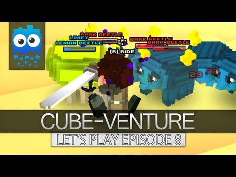 Cube-Venture Episode 8 : Cube World Alpha Let's Play! - A System of Caves!
