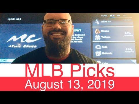Download MLB Picks (8-13-19) | Part 1 of 2 | Major League