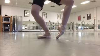 A Little Pointe Work - Ballerina Badass tries out her Grishko Shoes