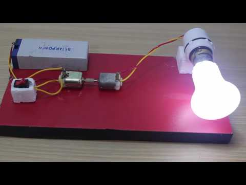 How to make electric generator