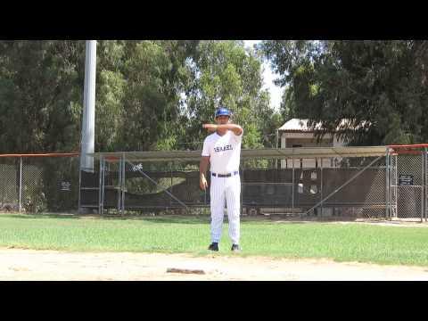 Israel Baseball Instructional Videos - Coaching 3rd Base