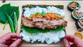 Download Party of One - Samgyeopsal Kimbap! Video
