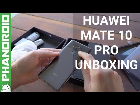 Huawei Mate 10 Pro Unboxing and Impressions