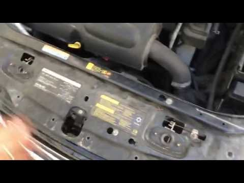 03-12 Saab 9-3 A/C condenser how to change.