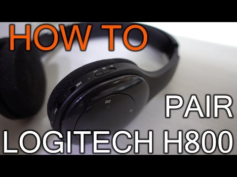 How To Pair Logitech H800 on Bluetooth