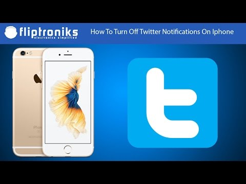 How To Turn Off Twitter Notifications On Iphone - Fliptroniks.com