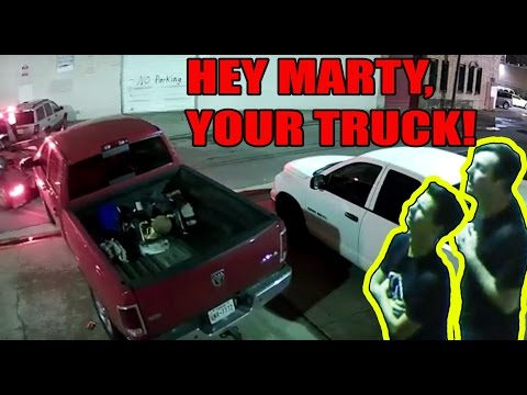 Marty's Ram Truck Gets Towed