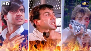 Best Fight Scenes From Blockbuster Action Movies   Ajay Devgan, Sunny Deol & Sanjay Dutt