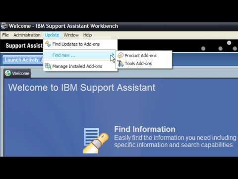 HC 02 Install IBM Support Assistant and Health Center