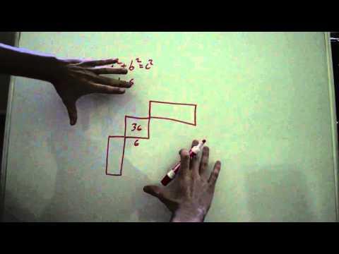 Geometric Method to Find Pythagorean Triples