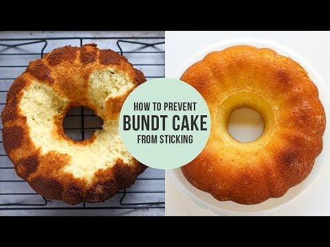 How to Prevent Bundt Cake from Sticking