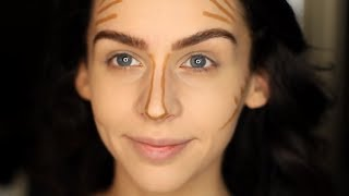 How To Contour & Highlight | DRUGSTORE Products!