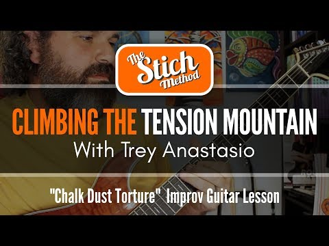 In The Mind of Trey Anastasio: Chalk Dust Torture Guitar Lesson