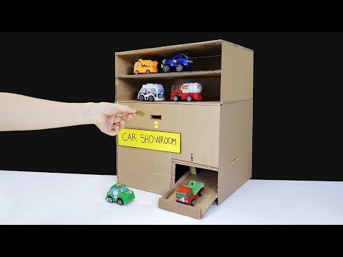 How to Make Car Vending Machine from Cardboard - Toy Cars