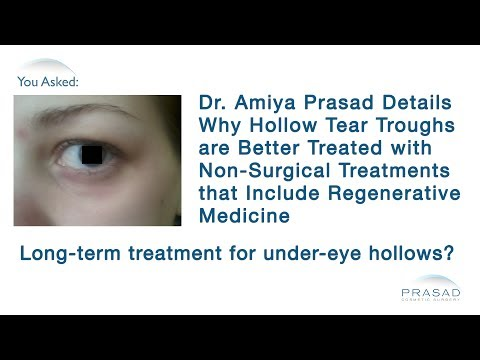 How to Improve Results of Fillers for Under Eye Hollowing by Improving Eyelid Skin Quality