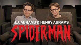 J.J. Abrams & Henry Abrams' Spider-Man Announcement   Marvel Comics