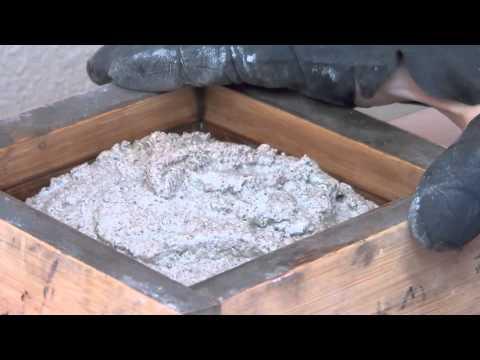 Make Recycled Glass Tile 4   Shaker Table