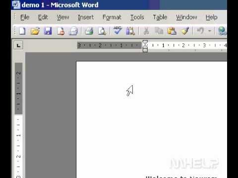 Microsoft Office Word 2003 Preview a document