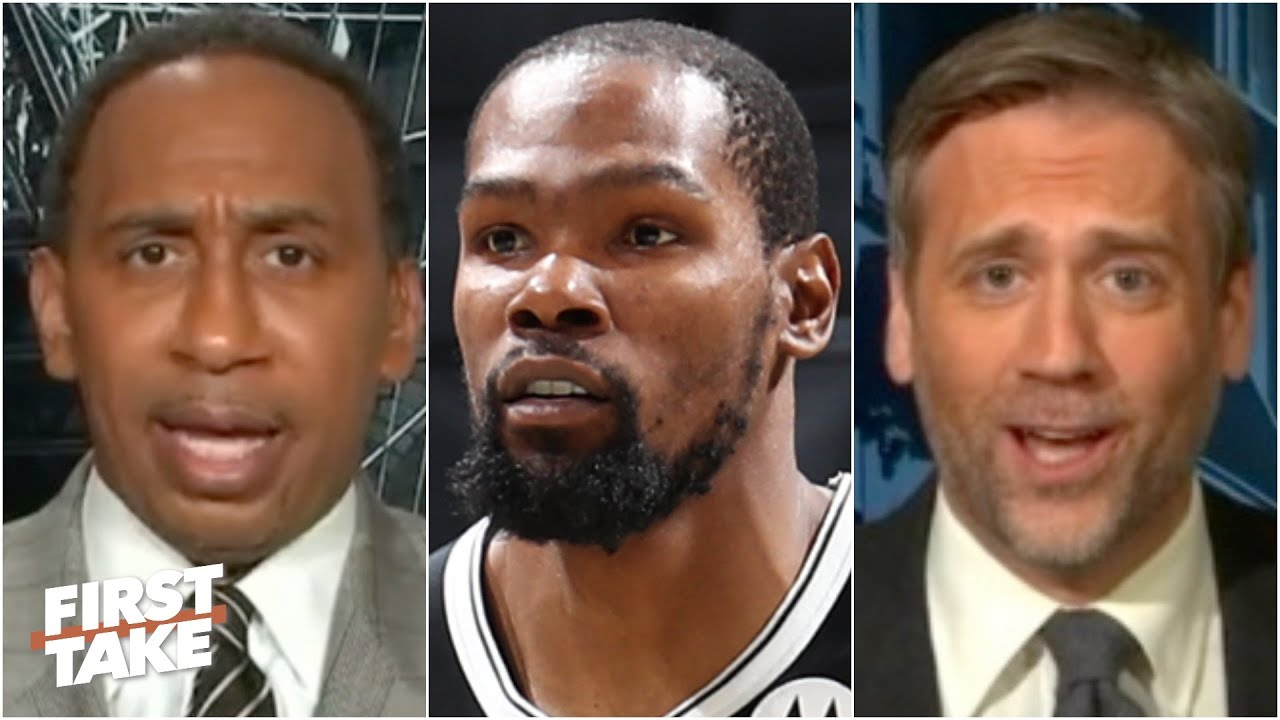 Max calls out Stephen A. for putting pressure on Kevin Durant   First Take